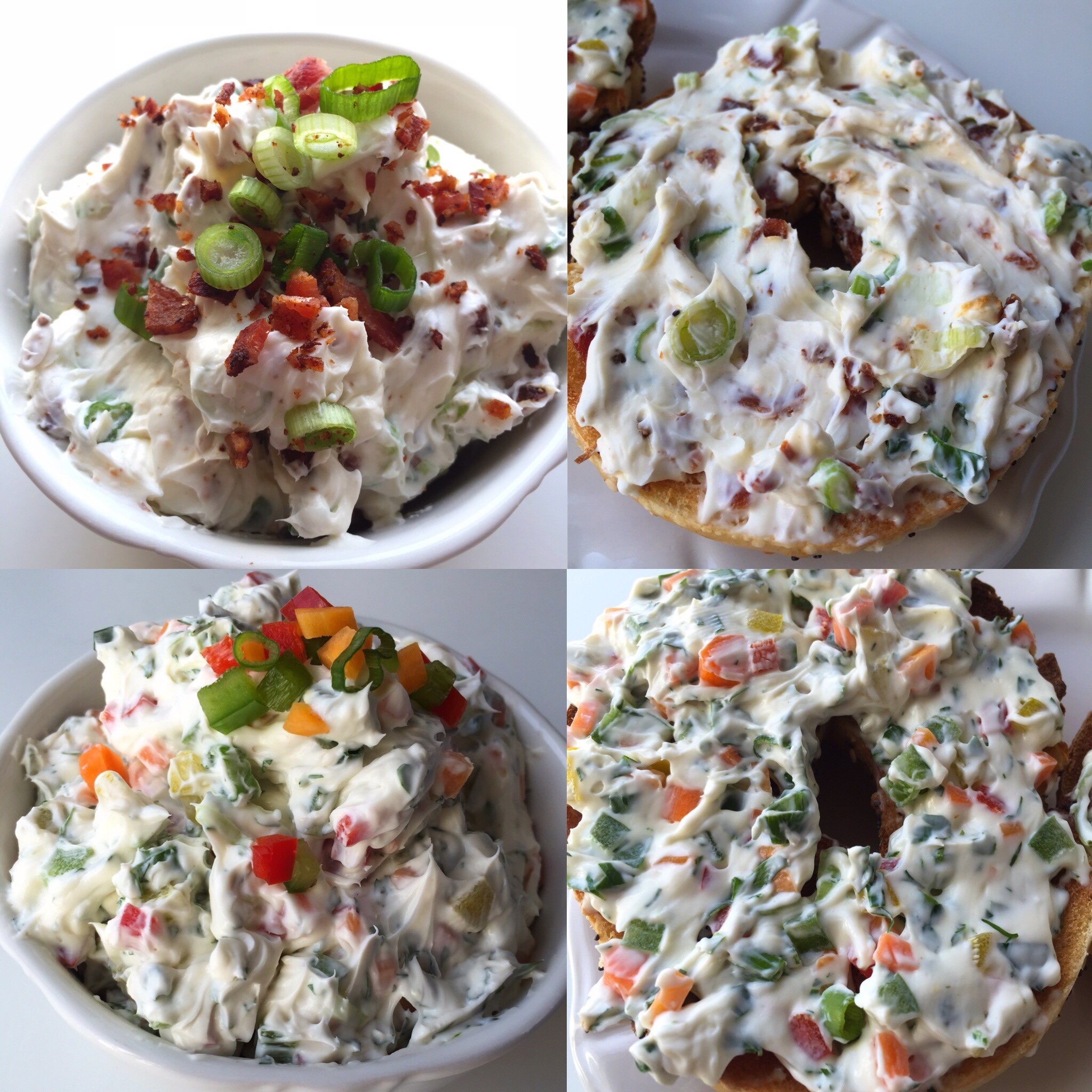 Flavored Cream Cheese